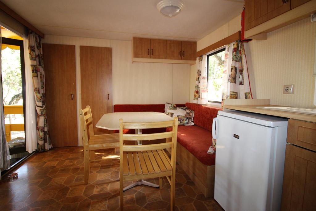 Cottage stacaravan interieur