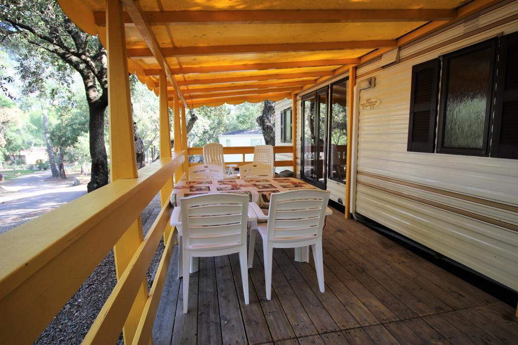 Cottage stacaravan veranda